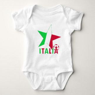 Italy Italia Soccer Stars Baby Bodysuit