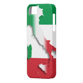 Italy Italian Flag iPhone 5 Case-Mate Barely There iPhone 5 Cases