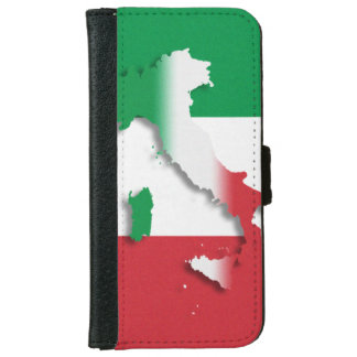 Italy Italian Flag iPhone 6/6s Wallet Case