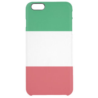 Italy Italian Flag Uncommon Clearly™ Deflector iPhone 6 Plus Case
