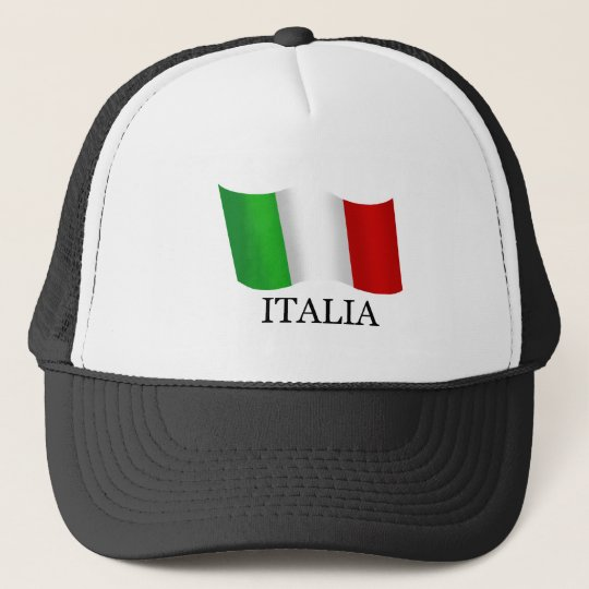 Italy Italian flag of Italy Italia Trucker Hat