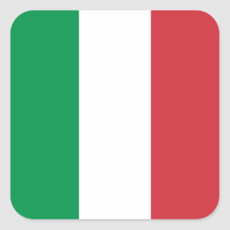 Italy/Italian Flag Square Sticker