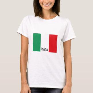 Italy Italian flag tshirt