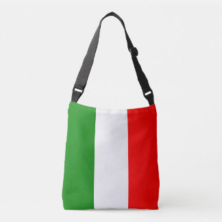 Italy Italian Italia Flag Tricolore Design Crossbody Bag