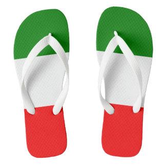 Italy Italian Italia Flag Tricolore Design Flip Flops