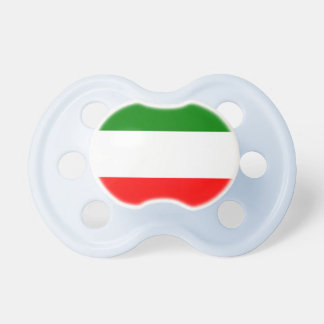Italy Italian Italia Flag Tricolore Design Pacifier