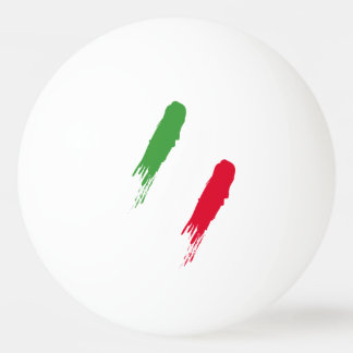 Italy Italian Italia Flag Tricolore Design Ping-Pong Ball