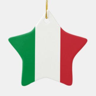 Italy – Italian National Flag Ceramic Ornament