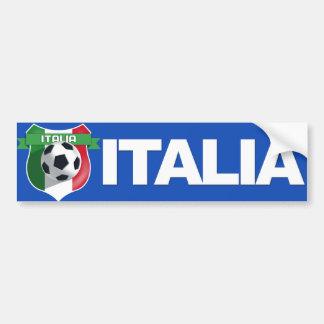 Italy Italian Team Bumper Sticker Car Bumper Sticker