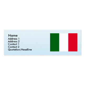 Italy , Italy Business Card Template