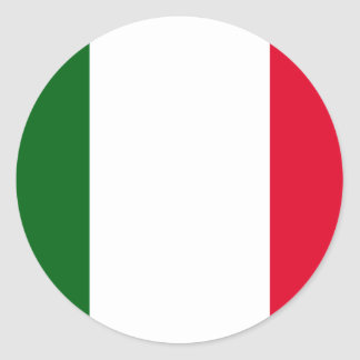 Italy , Italy Classic Round Sticker