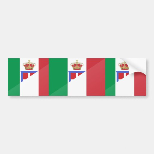 Italy, Italy flag Bumper Stickers