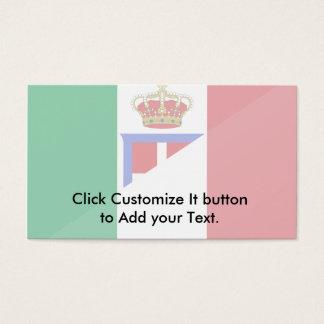 Italy, Italy flag Business Card