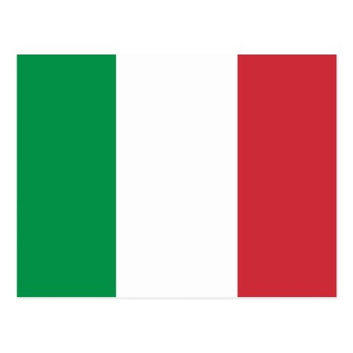 Italy, Italy flag Post Cards