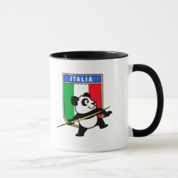 Combo Mug with Italian Javelin Panda design