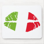 italy kiss mouse pads