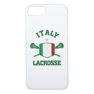 Italy lacrosse iPhone 7 case