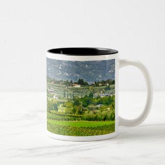 Italy, Lake Garda. The shores of Lake Garda are Two-Tone Coffee Mug