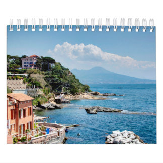 Italy landscape seasons calendar