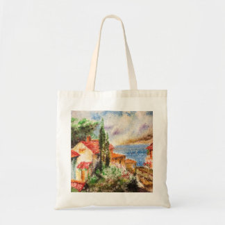 Italy landscape tote bag
