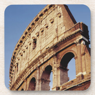 Italy,Lazio,Rome,The Colosseum at sunset Drink Coaster