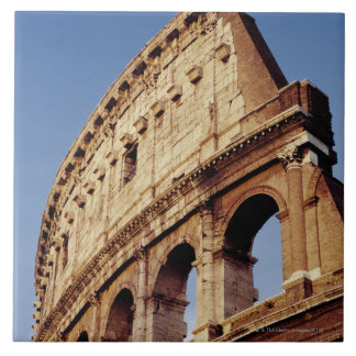 Italy,Lazio,Rome,The Colosseum at sunset Tiles