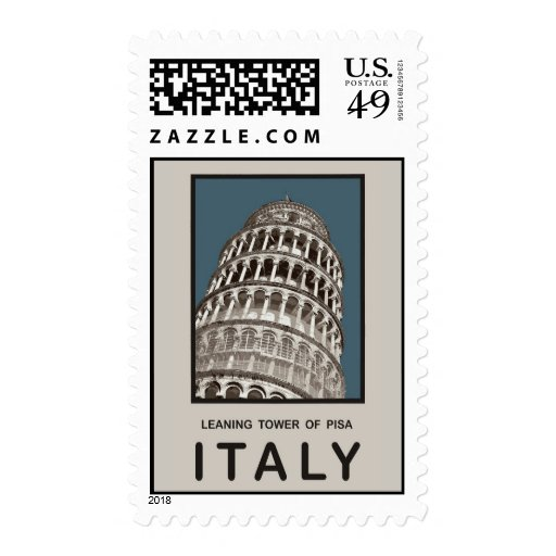 Italy Leaning Tower of Pisa Stamps