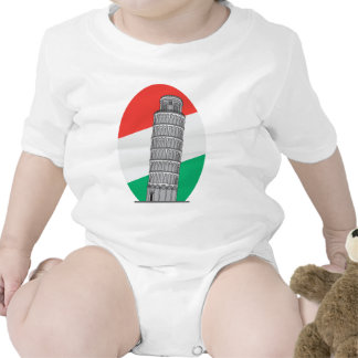 Italy Leaning Tower of Pisa Romper
