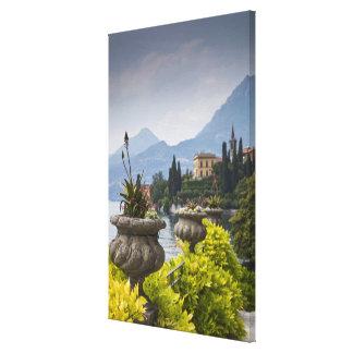 Italy, Lecco Province, Varenna. Villa Monastero, 2 Canvas Print