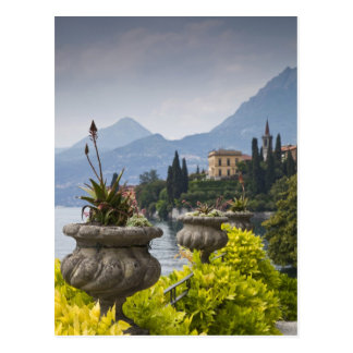 Italy, Lecco Province, Varenna. Villa Monastero, 2 Postcard