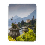 Italy, Lecco Province, Varenna. Villa Monastero, 2 Vinyl Magnets