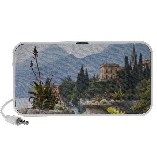Italy, Lecco Province, Varenna. Villa Monastero, 2 iPod Speaker