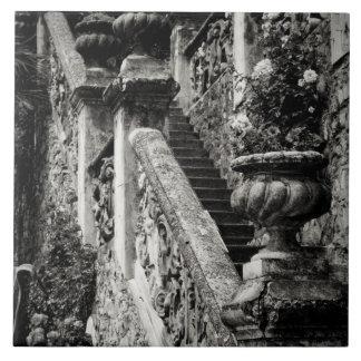 Italy, Lecco Province, Varenna. Villa Monastero, 3 Ceramic Tile