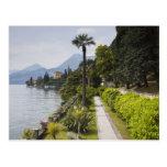 Italy, Lecco Province, Varenna. Villa Monastero, Post Card