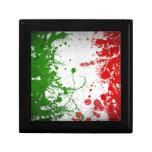 Italy line keepsake box