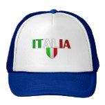 Italy logo flag of Italy shield for Italians Trucker Hat