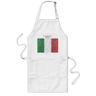 Italy Long Apron