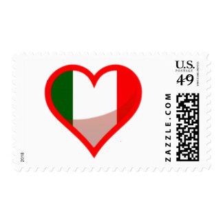 Italy Love Postage