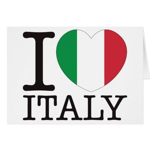 Italy Love v2 Greeting Card