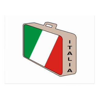 Italy Luggage Post Cards
