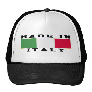 Italy Made In Designs Trucker Hat