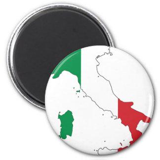 Italy_Magnet Imán Redondo 5 Cm