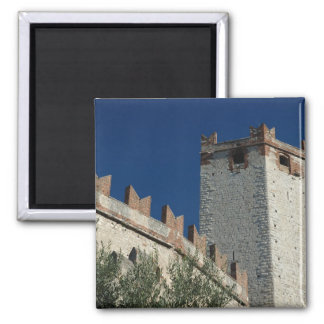 Italy, Malcesine, Lake Garda, Castle Scaligero 2 Refrigerator Magnets