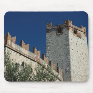 Italy, Malcesine, Lake Garda, Castle Scaligero 2 Mouse Pad