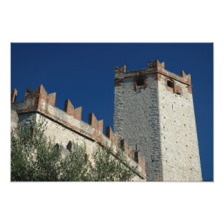 Italy, Malcesine, Lake Garda, Castle Scaligero 2 Art Photo