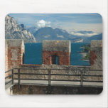 Italy, Malcesine, view from castle of Lake Mouse Pad