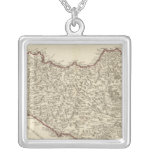 Italy, Malta Silver Plated Necklace