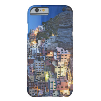 Italy, Manarola. Dusk falls on a hillside town Barely There iPhone 6 Case