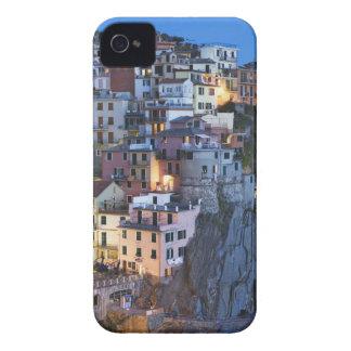 Italy, Manarola. Dusk falls on a hillside town iPhone 4 Case