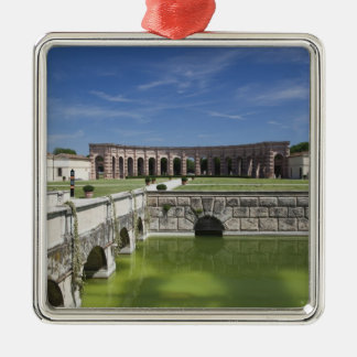 Italy, Mantua Province, Mantua. Courtyard, Metal Ornament